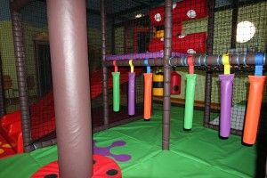 toddler area with slide
